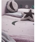 COJIN COSMOS LILA (PACK 2 UDS) BABY CLIC