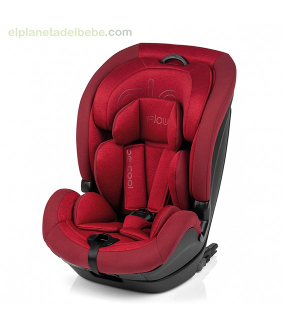 SILLA FLOW GR.1-2-3 ISOFIX 666 EMPIRE BE COOL
