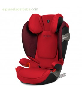 SOLUTION S-FIX FERRARI RACING RED CYBEX