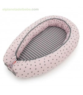 COJIN NIDO LITTLE STAR ROSA BABY CLIC