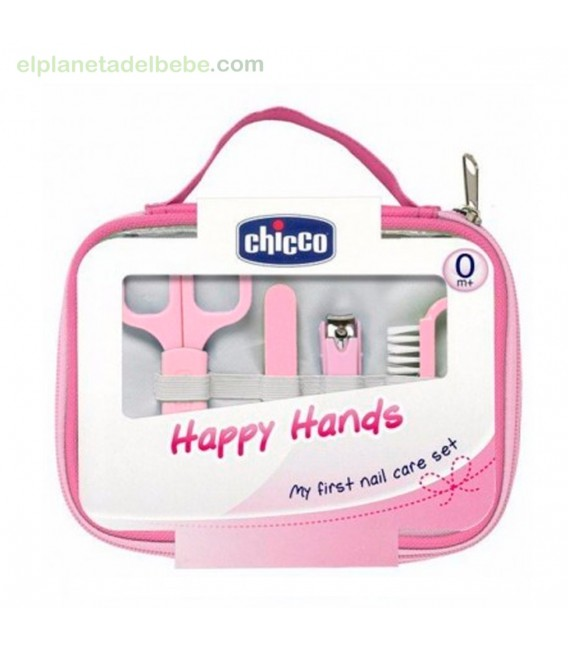 SET HAPPY HANDS ROSA CHICCO