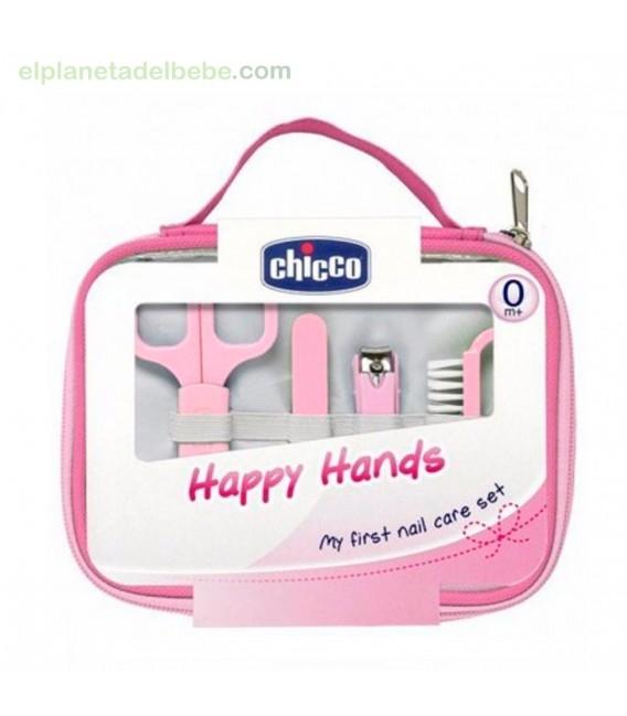 SET HAPPY HANDS ROSA CHICCO