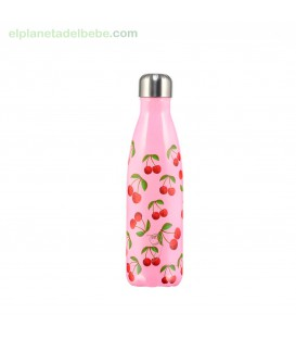 BOTELLA INOX CEREZAS 500 ML. CHILLY