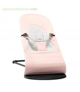 HAMACA BALANCE SOFT ROSA CLARO / GRIS BABY BJORN