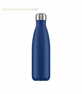 BOTELLA INOX AZUL MATE 500 ML CHILLY