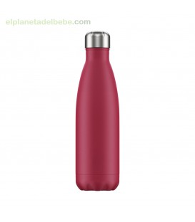 BOTELLA INOX FUCSIA MATE 500 ML CHILLY
