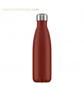 BOTELLA INOX ROJA MATE 500 ML CHILLY