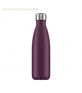 BOTELLA INOX PURPURA MATE 500 ML CHILLY