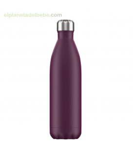 BOTELLA INOX PURPURA MATE 750 ML CHILLY