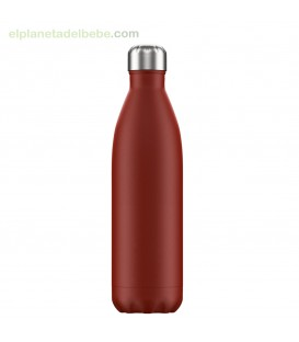 BOTELLA INOX ROJA MATE 750 ML CHILLY