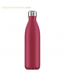 BOTELLA INOX FUCSIA MATE 750 ML CHILLY