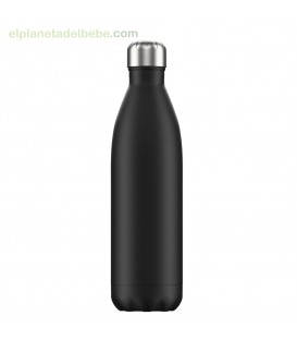 BOTELLA INOX NEGRO TOTAL 750 ML CHILLY
