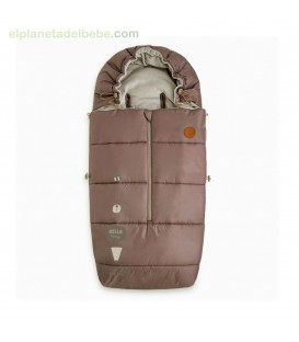 SACO INVIERNO HEADY NATURAL BABY MARRON TUC TUC
