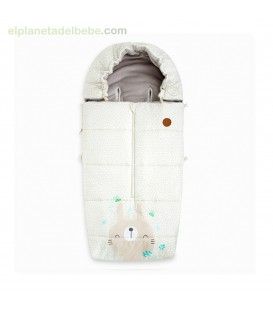 SACO INVIERNO HEADY NATURAL BABY BEIGE TUC TUC