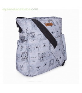 BOLSO SILLA PARAGUAS WEEKEND BEARS GRIS TUC TUC