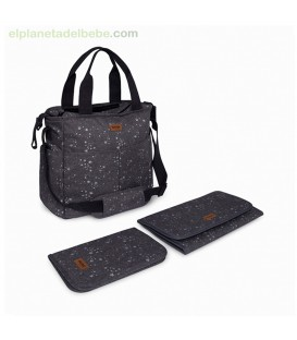BOLSO COCHECITO + CAMB + PORTAD WEEKEND CONSTELLATION GRIS TUC TUC
