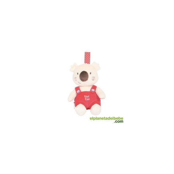 Sustancia Jersey algodón lila Rosa gris koala oso bebé niños