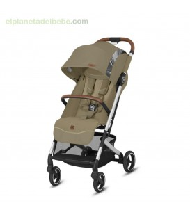 SILLA DE PASEO QBIT+ ALL CITY VANILLA BEIGE FASHION EDITION GB