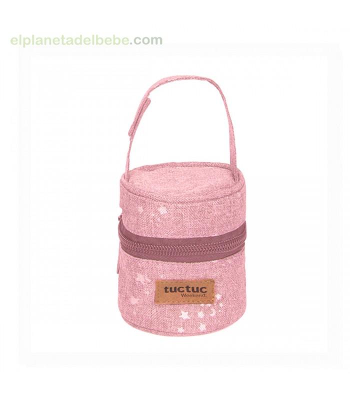 color rosa Tuc Tuc Biscuit Portachupete