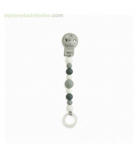 PINZA CHUPETE SILICONA WEEKEND CONSTELLATION GRIS TUC TUC
