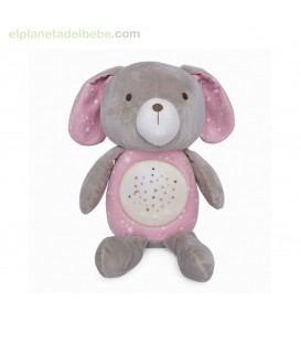 PELUCHE CON PROYECTOR WEEKEND CONSTELLATION ROSA TUC TUC