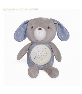 PELUCHE CON PROYECTOR Y MUSICA WEEKEND GRIS TUC TUC