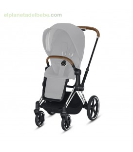 PRIAM CHASIS CROMADO/BROWN 2020 CYBEX