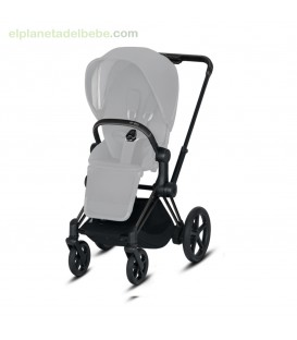 E-PRIAM CHASIS MATT BLACK CYBEX