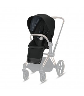 PRIAM SEAT PACK DEEP BLACK CYBEX