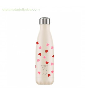BOTELLA INOX CORAZONES 500ML CHILLY