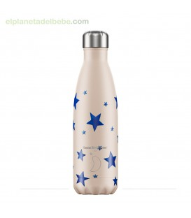 BOTELLA INOX ESTRELLAS AZULES EMMA B 500ML CHILLY