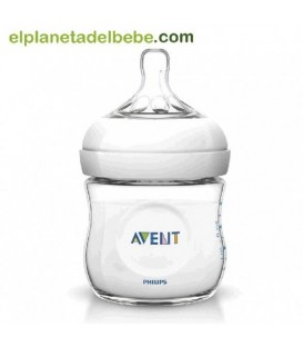 BIBERON NATURAL 125 ML. AVENT