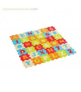 PUZZLE DE ESPUMA LETRAS Y NUMEROS 180X180 CM TOP TOYS
