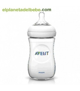 BIBERON NATURAL 260ML. AVENT