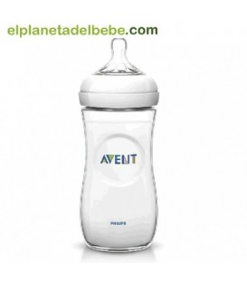 BIBERON NATURAL 330 ML. AVENT