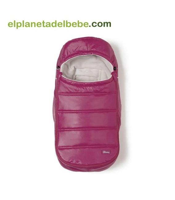 Saco de Invierno Grupo 0 Baby Clic Fiordo Cereza
