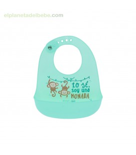 BABERO SILICONA MR WONDERFUL MONITOS SARO