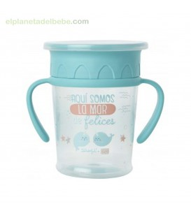 TAZA CON ASA MR WONDERFUL LA MAR DE FELICES