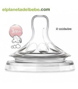 Tetina natural flujo variable Avent