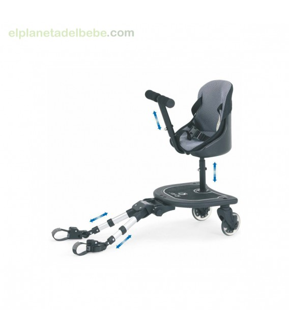 PATINETE ROLLER + ASIENTO PK-4 CARBEBE