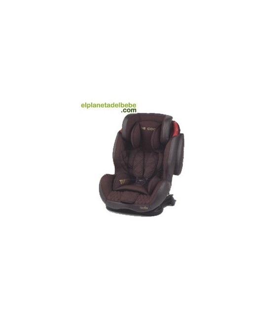 SILLA DE AUTO THUNDER ISOFIX GR. 1/2/3 BROWNIE BE COOL
