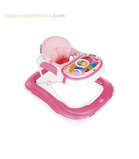 ANDADOR BASIC BEBE PLUS ROSA MS