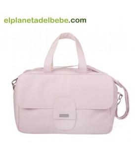 Bolsa Maternidad Ovalo Rosa de Tuc Tuc