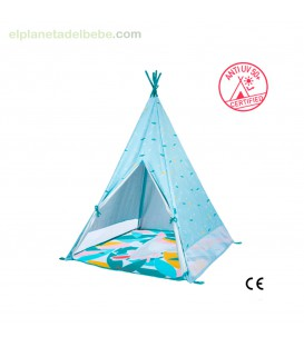 TIENDA TIPI JUNGLE INFANTIL ANTI UV BABYMOOV