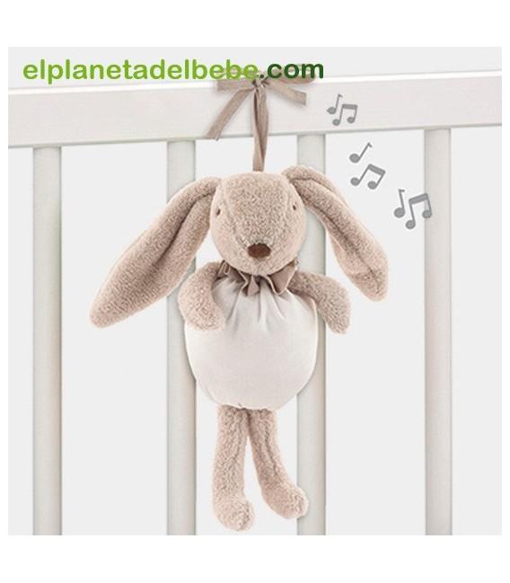 Conejito musical Etoile beige de Pasito a Pasito