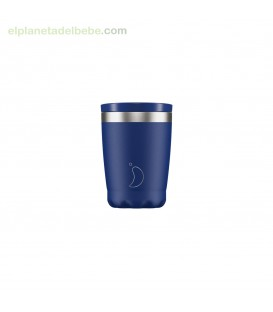 VASO ACERO INOX AZUL MATE 340ML CHILLY