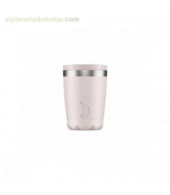 VASO ACERO INOX ROSA BLUSH 340ML CHILLY