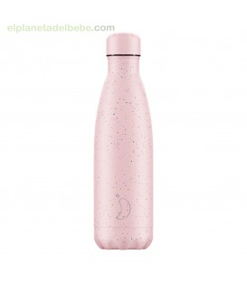 BOTELLA CHILLYS MOTEADA ROSA 500ML