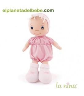 Muñeca bebé rosa La Nina