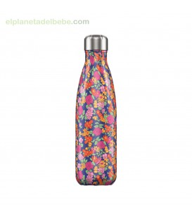 BOTELLA INOX ROSAS SALVAJES 500ML CHILLY